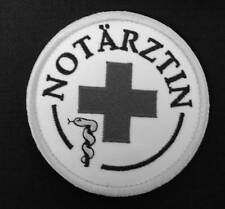NOTÄRZTIN Embleme Emblem Patch Aufnäher NEU