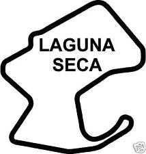 LAGUNA Seca MOTO GP AUTOCOLLANT DECAL VOITURE de COURSE PISTE USA