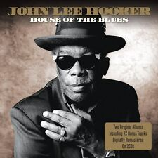 John Lee Hooker House Of The Blues/I'm John Lee Hooker 2-CD NEW SEALED Remaster