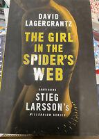 The Girl in the Spider's Web - hardback Book - New - David Lagercrantz - S2