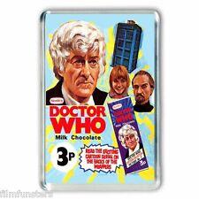 Doctor Who Nestles CHOCOLATE BAR ADVERT - JON PERTWEE - JUMBO FRIDGE MAGNET