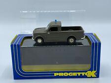 Rare Progetto K Fiat 1100/103 Carabinieri Police Truck 1:43