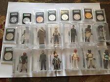 Huge Star Wars AFA Lot - Last 17 - POTF Yak Face - Vintage Star Wars Figures .