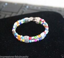 Stone Tibetan Silver Fashion Bracelets