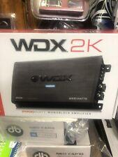 db Drive WDX 2K Class D Monoblock Amplifier / 2000 Watts  New