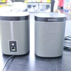 Sonos PLAY:1 Wireless Speaker All-In-One Wireless WiFi Music Player 2-Pack Black