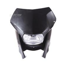 Black Motorcycle Front Head Light Dirt Bike For Kawasaki KLX 110 125 140 250 R S