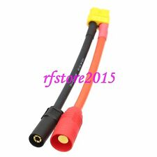 XT60 female to XT150 AS150 male adapter 10AWG 5CM Wire for DJI S1000 S900