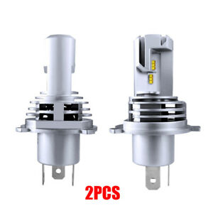 2x H4 9003 HB2 LED Headlights Bulbs High&Low Beam 110W 12000LM Error Free White
