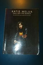 Katie Melua Call off the search songbook sheet music book piano guitar vocal