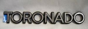 NEW NOS Oldsmobile Toronado Trunk Lid Emblem NEW OEM NOS 86 87 88 89