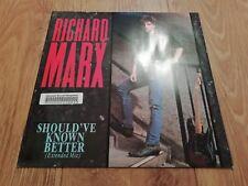 """RICHARD MARX * SHOULD'VE KNOWN BETTER * 12"""" VINYL DEMO EXCELLENT 1987"""
