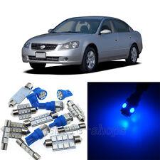 Bright Blue 8pcs Interior LED Light Kit for 2002-2006 Nissan Altima