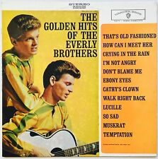 EVERLY BROTHERS The Golden Hits of the Everly Brothers OZ Warner VG+/VG++