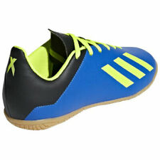 Adidas X Tango 18.4 Indoor J DB2431 Shoes Boys Youth Soccer Casual Blue Boots 12