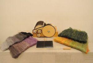 Кардер барабанный, чесалка для шерсти (Carder drum for wool)