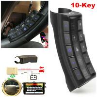 10-Key Car Steering Wheel Button Remote Control For Stereo Player GPS Universal