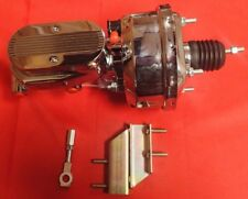 1964 1965 1966 ford mustang CHROME brake booster AND MASTER CYLINDER CHROME