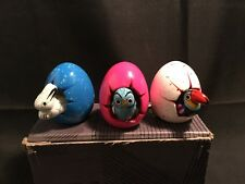 Ceramic Animal Hatching eggs – Handmade Mexican Boxed Set of 3