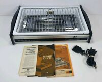 Vintage Dominion Smokeless Broiler Model 2560 Works No Rotisserie Attachment