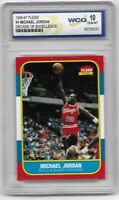 1996-97 MICHAEL JORDAN FLEER ROOKIE #4 GEM MINT 10 - Last Dance H.O.F - PSA 10 ?