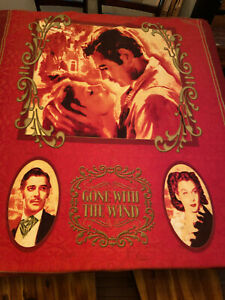 Gone With The Wind Fleece Throw Blanket for Bedroom Living Room Soft