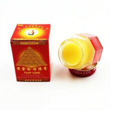 100% Original vietnam gold tower painkiller pain relief tiger balm ointment 20g