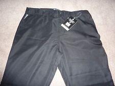 New NWT Mountain Warehouse tailored fit women's golf trousers, teflon, black. 18
