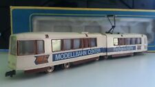 "AHM 5302 Straßenbahn Boeing LRV Trolley ""MC Modellbahn Center"" H0 in Ovp"