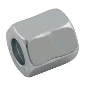 "Hydraulic Tube Nut Triple-Lok 37° Flare 3/4""UNF to 1/2"" or 12mm Tube Pk4"