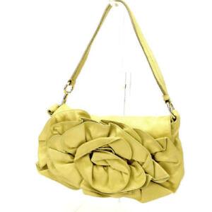 Saint Laurent Shoulder bag Yellow Woman Authentic Used B591