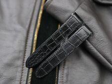 Genuine Alligator Watch Strap - Cartier Roadster Watch Strap 20mm x 18mm