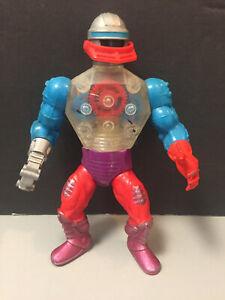 1985 HE-MAN MOTU ROBOTO w/ Claw Mattel Vintage
