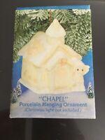 Precious Moments Ornament 530484 Chapel Sugar Town Butterfly Mark MIB
