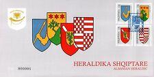 Albania Stamps 2007. ALBANIAN HERALDIC. FDC Set MNH
