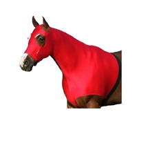 Horse Hood  With Full Zipper Closure - Large Eye Holes