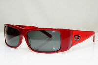Authentic GUESS Womens Vintage Sunglasses Burgundy Rectangle GU 6213 RD 3 29424