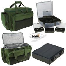 NGT Carp Fishing Insulated Tackle Bag 709 + 4+1 Tackle Box System Carp Bundle