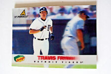 1997 PINNACLE HOLOGRAPHIC BB CARD DET TIGERS TRAVIS FRYMAN - DENNYS SET #6 / 29