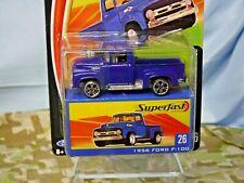 Matchbox Superfast 1956 FORD F-100 #26 (Midnight Blue) H2319 MOC (499