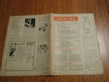 Vintage Child Life Easter Magazine March 1950~40 Pages~Cut-Outs-Puzzles~St ories