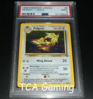 PSA 9 MINT Pidgeot 8/64 Jungle Set HOLO RARE Pokemon Card