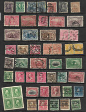 Collection 19th Early 20th Century Columbian Regular Bureau Town Cancels US B89