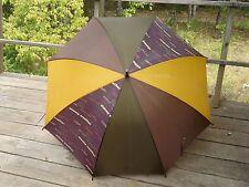 PROMOTIONAL GIFT  Large ARAMIS Umbrella WOOD LOOK HANDLE