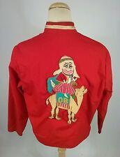 Vintage 70s Shriners Circus Clown Jacket XL Camel Carnival  Fair Game button pin