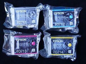 Epson Genuine Original T0715 Ink Cartridges