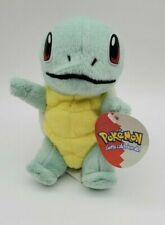 """Vintage 90's Pokemon Squirtle Soft Stuffed Plush Toy Nintendo Play by Play 5"""""""