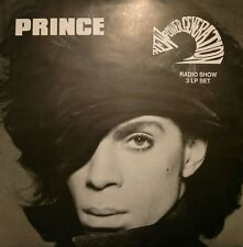 PRINCE & NEW POWER GENERATION RADIO SHOW (1989 WHITE-LABEL 3LP SET) KMOJ NPG