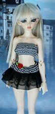 BJD Recast Minifee Chloe Doll with Wig/Clothes/ extra feet etc