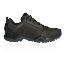 adidas Mens Terrex AX3 GORE-TEX Walking Shoes Green Sports Outdoors Waterproof